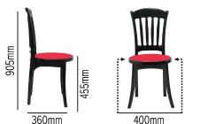 SWAGATH AFFAIR DELUXE CHAIR SPECIFICATION