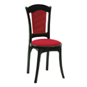 Swagath Affair Super Deluxe Plastic Cushioned Chair Without Arms