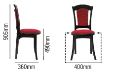 SWAGATH AFFAIR SUPER DELUXE CHAIR SPECIFICATION