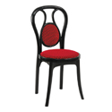 Swagath Attract Super Deluxe Plastic Cushioned Chair Without Arms