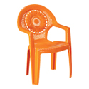 Swagath Plastic Baby Chair With Arms KID-03