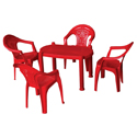 Swagath Plastic Baby Chair With Arms Kiddies