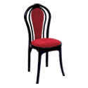 Swagath Beauty Super Deluxe Plastic Cushioned Chair Without Arms