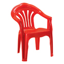 Swagath Plastic Chair With Arms SW-1101