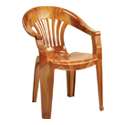 Swagath Plastic Chair With Arms SW-1201