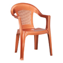 Swagath Plastic Chair With Arms SW-201