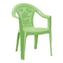 Swagath Plastic Chair With Arms SW-308