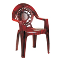 Swagath Plastic Chair With Arms SW-404