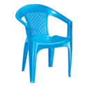 Swagath Plastic Chair With Arms SW-601