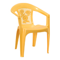 Swagath Plastic Chair With Arms SW-605