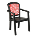 Swagath Plastic Chair With Arms Vogue