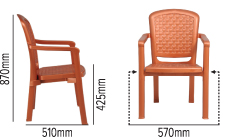 SWAGATH WEAVE CHAIR SPECIFICATION