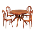 Swagath Fantasy With Beauty Dining Table With Chair