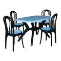 Swagath Plastic Dining Table With Chair Max With Beauty