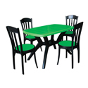 Swagath Plastic Dining Table With Chair Max With Luxury