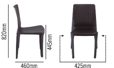 SWAGATH LINEA CHAIR SPECIFICATION