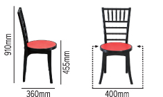 SWAGATH POSH CHAIR SPECIFICATION