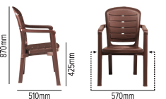 SWAGATH URBANO CHAIR SPECIFICATION