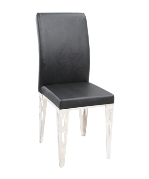 CHS01 CHS01 CUSHIONED DINING CHAIRS-BLACK