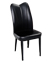 CHP06 CHP06 CUSHIONED DINING CHAIRS-BLACK