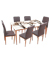 TP08-Glass with CHP02 Chairs TP08-Glass Dining Table with CHP02 Chairs